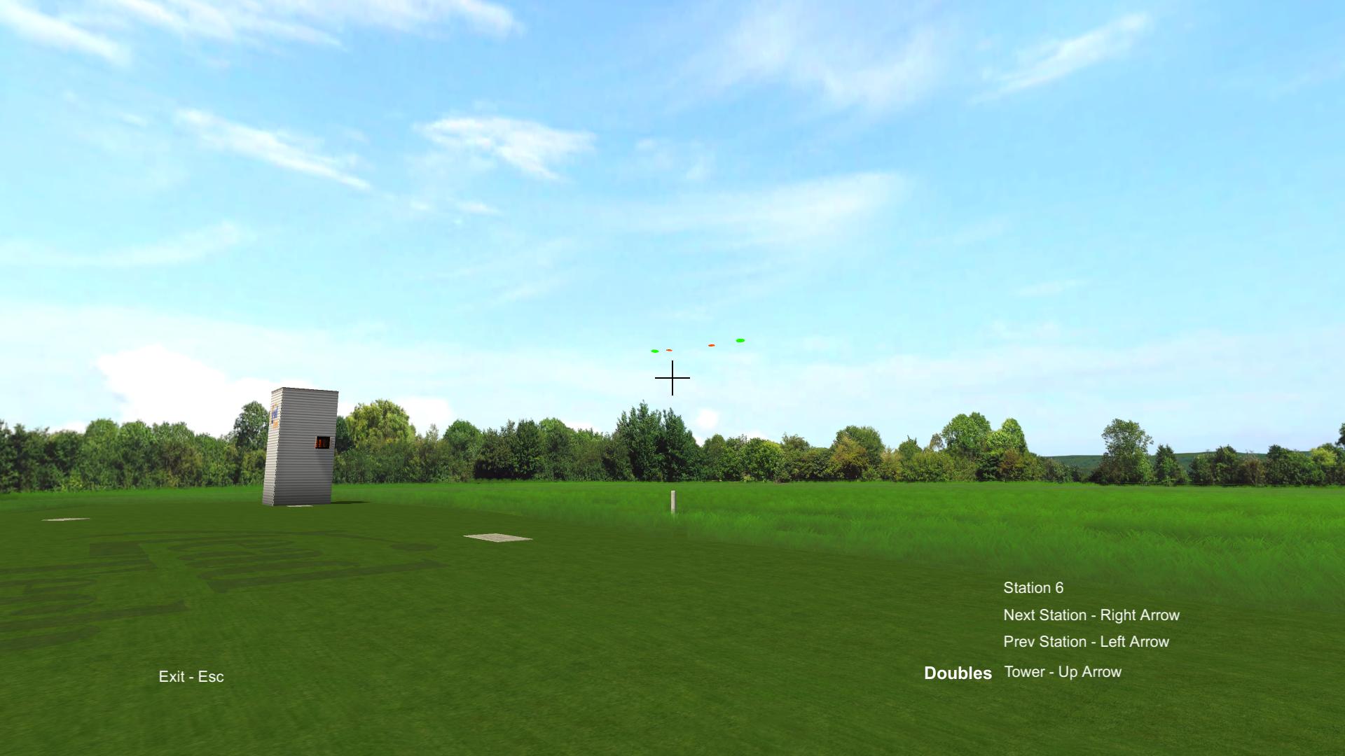 Virtual Reality Skeet Station 6