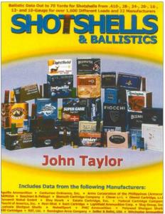 Virtual Reality Shotgun Ballistics – Derived From The Original Reality Courtesy of John Taylor