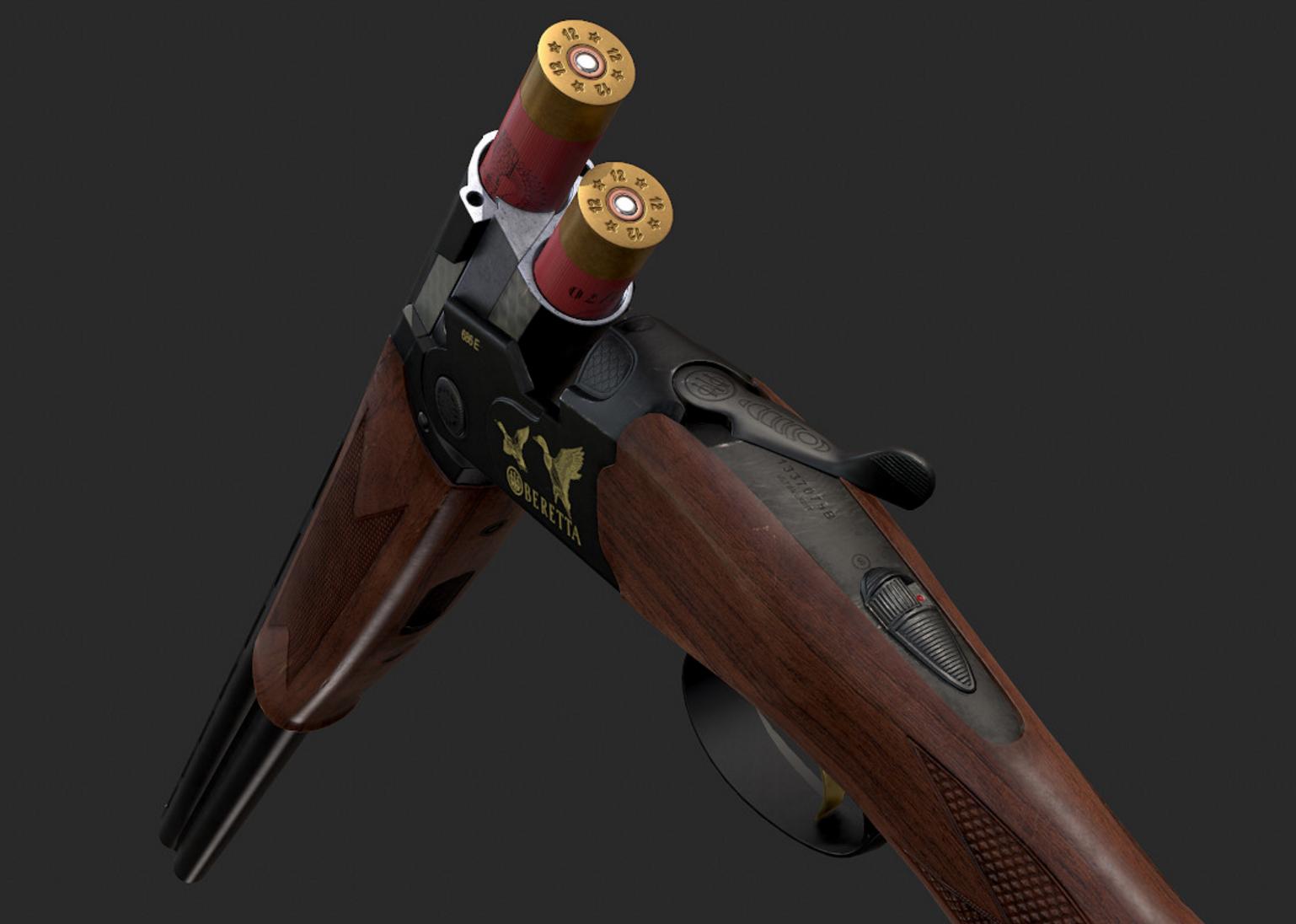 Virtual Reality Gun Controller for Shotgun Shooting Game | Lead Tech