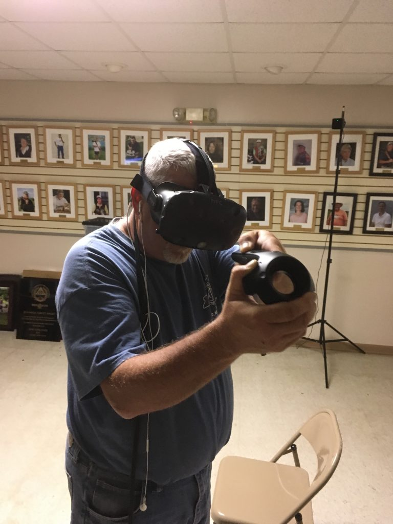 ATA Prez Jim Davis shows his virtual form