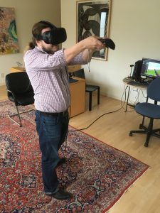 Testing the Best Virtual Reality Shooting Simulator in Augmented Reality