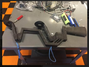 Clazer Shooter Builds His Own Simulated Shotgun VR Controller !