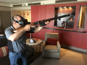 VR and AR Training for Scholastic Shooting Teams