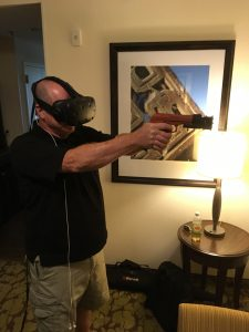 Virtual Reality Gun Controller Patent For Shooting Simulators
