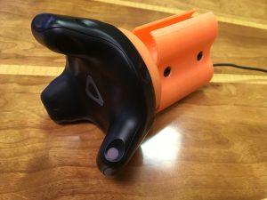First Production Virtual Reality Gun Controller