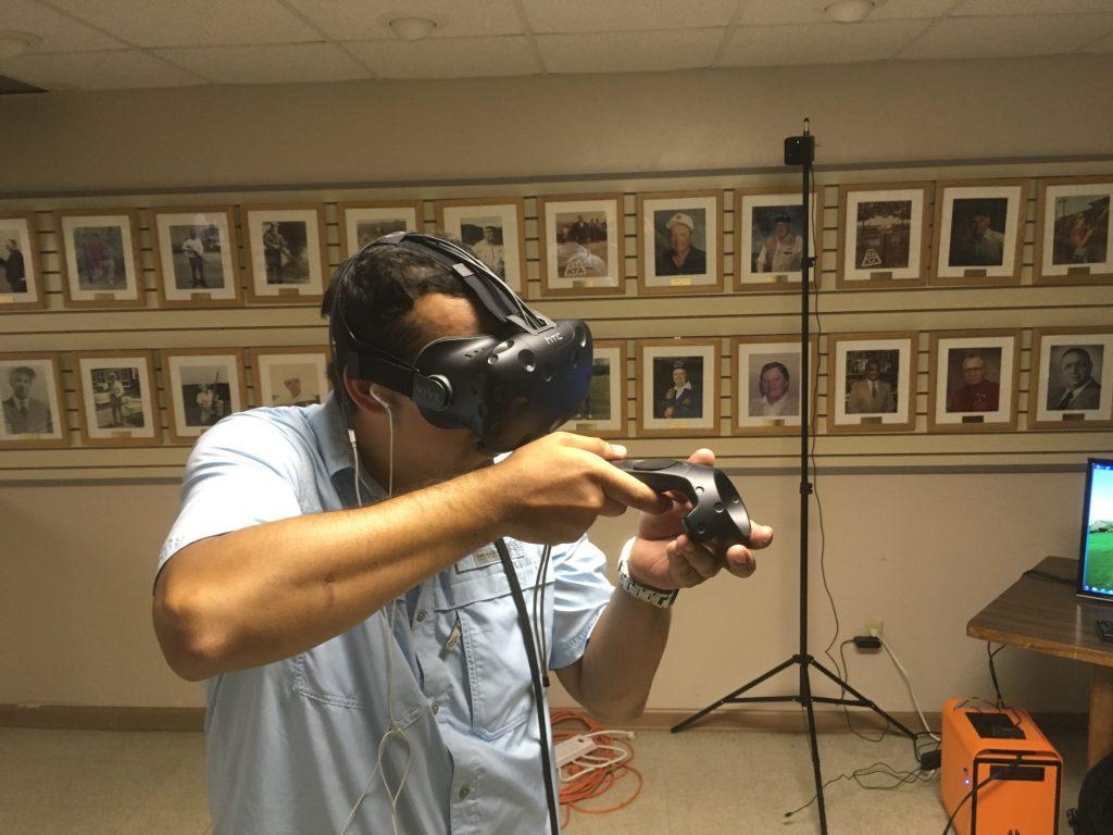 Chasing a virtual rabbit